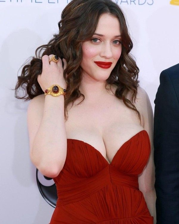 Can find Hot kat dennings cleavage